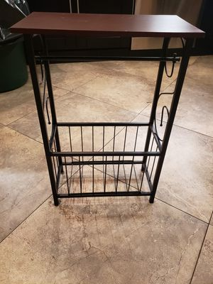 Toilet paper holder and Magazine rack for Sale in Tampa, FL