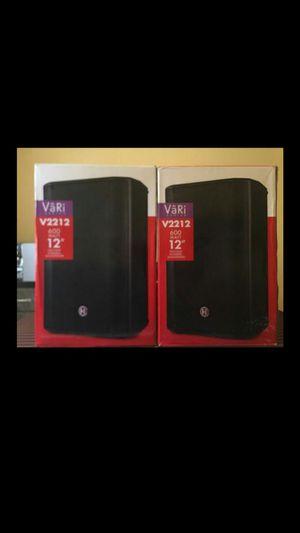 ??DJ equipment 2 speaker like new! Trade for controller dj for Sale in Lakewood, CO