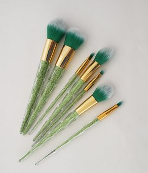 Green color makeup brushes for Sale in Los Angeles, CA