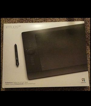 Wacom intuos pro large tablet for Sale in Apex, NC