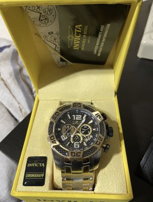 Invicta men's watch for Sale in Prospect Heights, IL