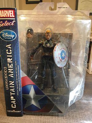 Marvel Select Unmasked Captain America Disney Exclusive Figure for Sale in Arlington, TX