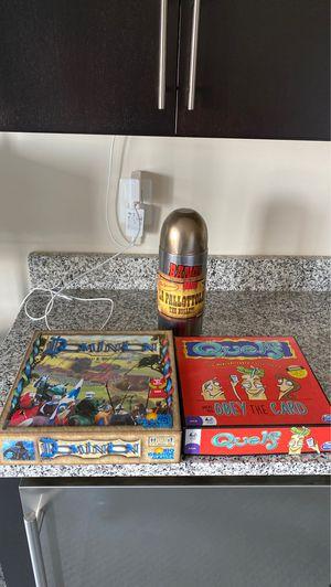 Board games, Dominion, Quelf, La Pallottola (The Bullet) for Sale in Fairfax, VA