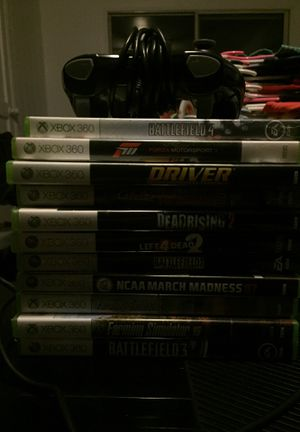 XBOX 360 AND GAMES for Sale in Carthage, TN