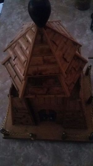 Bamboo castle bank / music box for Sale in Vidalia, GA