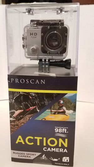 PROSCAN ACTION CAMERA BRAND NEW for Sale in Little Rock, AR