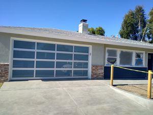 Glass aluminum garage doors for Sale in Wilmington, CA