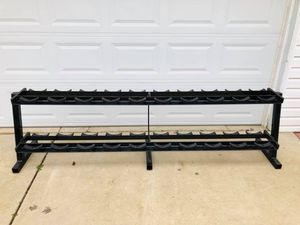 Dumbbell Rack - Weights - Gym Equipment - Fitness - Work Out - Exercise for Sale in Downers Grove, IL
