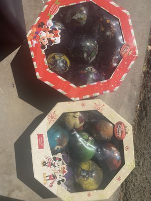 2 ornament set nightmare before Christmas for Sale in Anaheim, CA