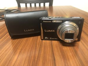 LUMIX 16 mp Digital Camera with case and changer for Sale in Hamden, CT