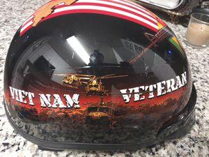 VIETNAM VETERAN MOTORCYCLE HELMET for Sale in Decatur, GA