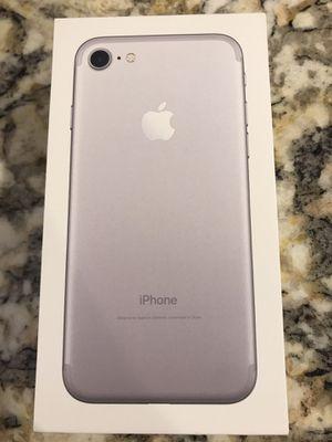 Unlocked iPhone 7, 128GB for Sale in Arlington, VA
