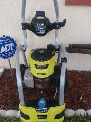 Ryobi 3100psi pressure washer for Sale in New Port Richey, FL
