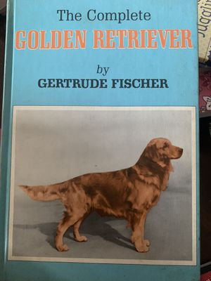 "Book ""the complete Golden Retriever by Gertrude Fischer for Sale in Gibsonton, FL"