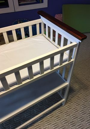 Baby changing table with storage shelf for Sale in Glen Allen, VA