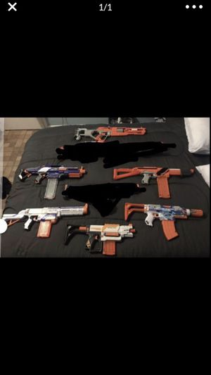 Nerf Guns $100 For All for Sale in Miami, FL