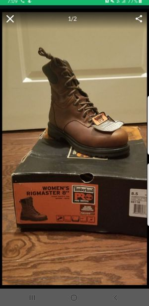 8 Inch Womens Insulated Timberland workboots size 8.5M for Sale in Baltimore, MD