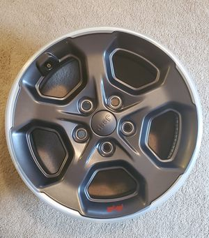 JEEP RUBICON WHEELS SET OF 4 NEW IN BOXES for Sale in Northfield, OH