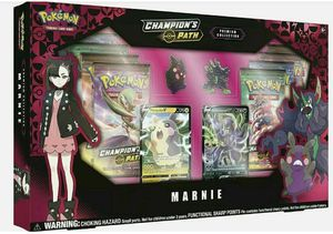 Pokemon Champion's Path Premium Collection Marnie Collection SEALED for Sale in Hialeah, FL