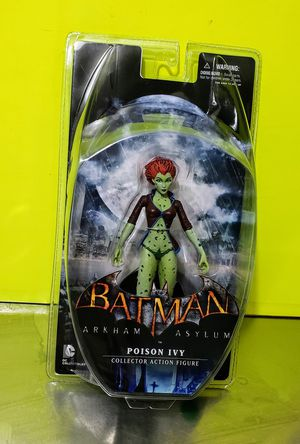 POISON IVY Arkham Asylum Action Figure/ New, Rare for Sale in The Bronx, NY