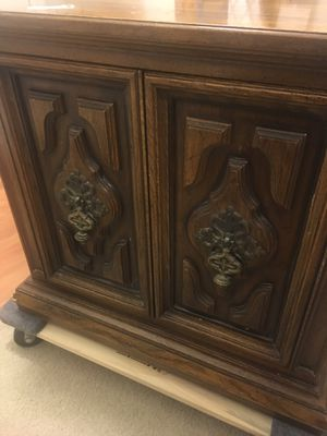 Antique Wood Cabinet Side Table Small Hutch for Sale in VA, US