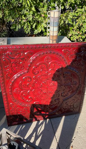 Large metal decoration for Sale in West Covina, CA