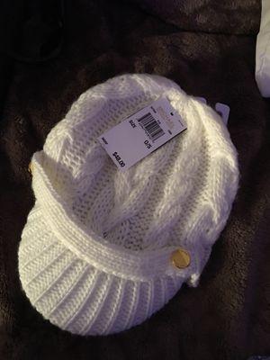 White knitted Michael Kors Hat for Sale in Denver, CO