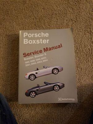 Porsche Boxster Service Manual for Sale in Durham, NC