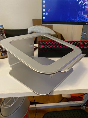Aluminum adjustable laptop stand for Sale in Malden, MA