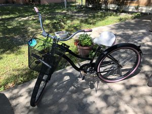 "26"" Classic Womens Bike Beach Cruiser Single Speed Road Bicycle for Sale in Poinciana, FL"