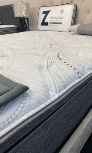 (JUST $54 DOWN) Brand New Pillow Top mattress with 10 Year warranty (Financing & Delivery Available) for Sale in Carrollton, TX