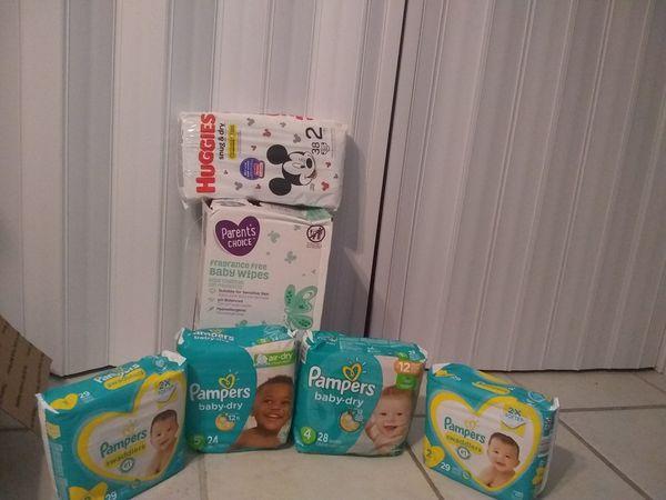 Pampers brand bundle