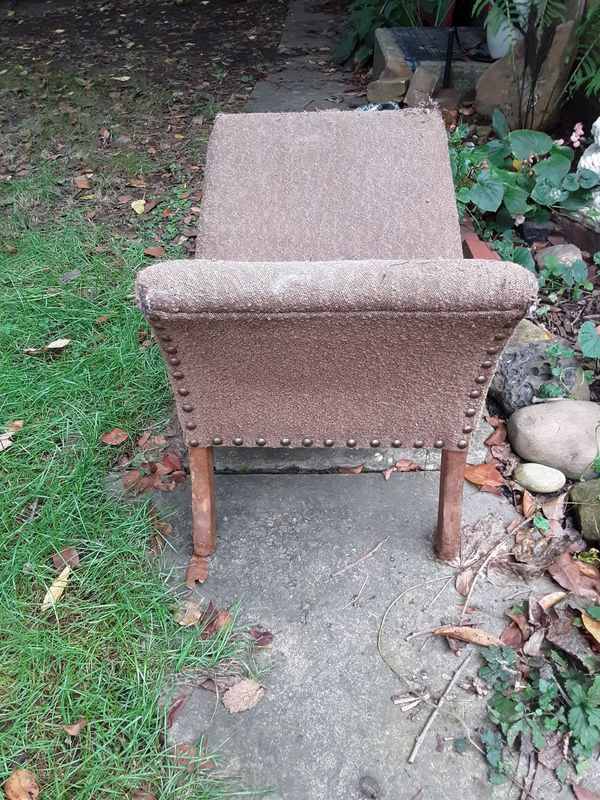 **RARE**SUN SALE Antique birthing chair