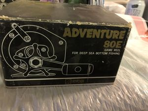 Ryobi Adventure 80E Game Reel Deep sea bottom fishing for Sale in Orange, CA