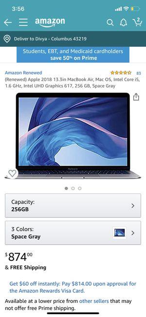 "Apple MacBook Air 2018 13.3"" for Sale in Columbus, OH"