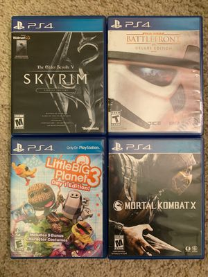 PS4 games for Sale in Garden Grove, CA