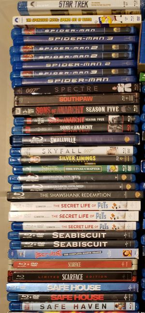 Blu-ray Movies Listing 12 for Sale in Highlands, TX