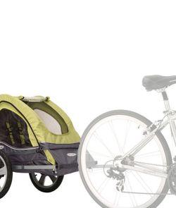 Instep Sync Singleton Bike Trailer - Green & Gray for Sale in Modesto,  CA