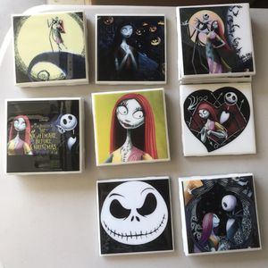 NIGHTMARE BEFORE CHRISTMAS - coasters *NEW* for Sale in Ontario, CA