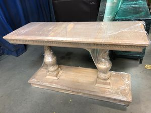 Restoration hardware console table for Sale in Houston, TX