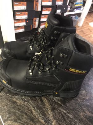 """Caterpillar//EXCAVATOR 6""""//work boots//comp toe// size (13)(14) for Sale in Skokie, IL"""
