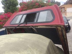 Camper shell for small truck 61 in, wide ancho, x , 74 largo for Sale in La Presa, CA