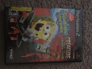 Ps2 spongebob game for Sale in Aspen Hill, MD