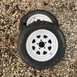 """14"""" Trailer Tires/wheels for Sale in Fort Worth, TX"""