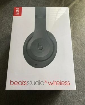 New Beats Studio 3 Wireless Headphones Black for Sale in El Cerrito, CA