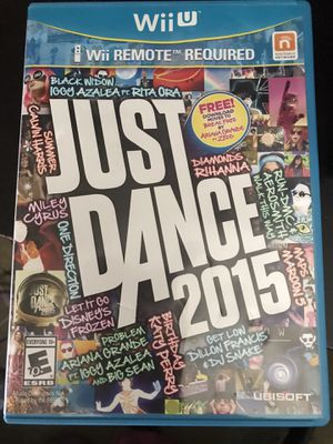 Wii U Just Dance 2015 for Sale in Columbus, OH