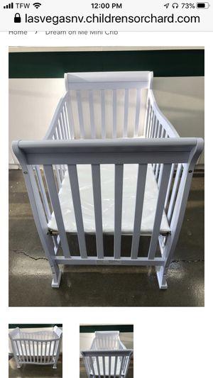 New Dream on Me Mini Crib Lavender Ice for Sale in Las Vegas, NV