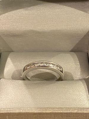 Unisex 925 sterling silver Wedding/Engagement Ring- Code D012 for Sale in Miami, FL