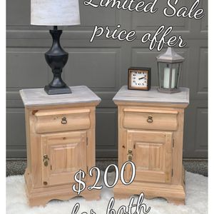 Farmhouse Nightstands or End Tables for Sale in Olympia, WA