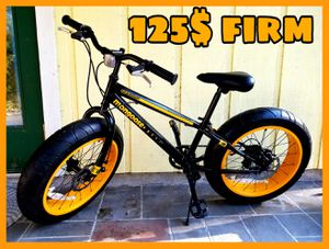 Boys big tire bicycle 20in for Sale in Loxahatchee, FL